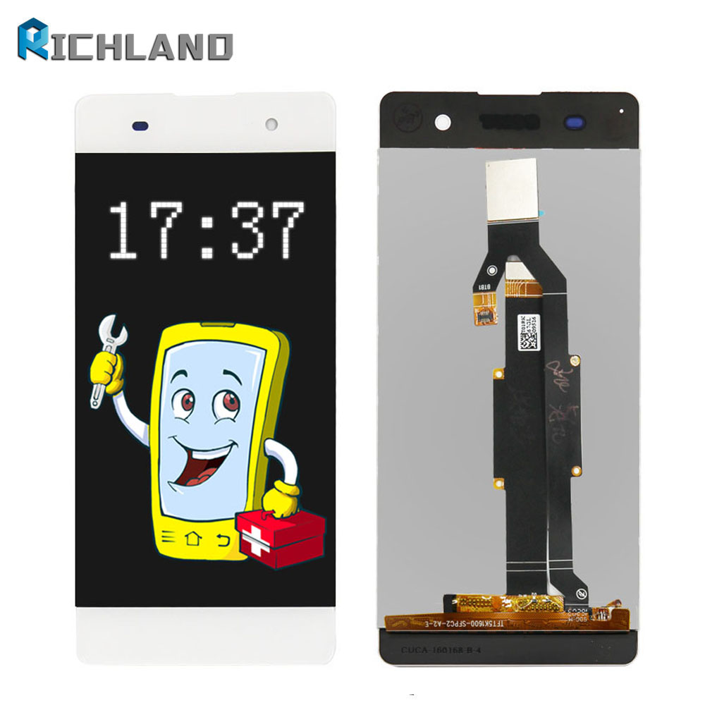 Highscreen LCD For Sony Xperia XA F3111 F3113 F3115 LCD Display with touch Screen display Digitizer Assembly Replacement Parts