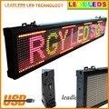 Красочный дисплей Led Красный/Зеленый/Желтый Программируемый Прокрутка Сообщение светодиодная вывеска для Бизнеса и Магазин