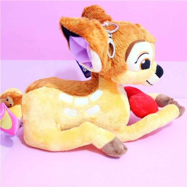 Disney милая плюшевая кукла игрушки Long25 High18 олененок Бэмби в виде животного мягкая набивная плюшевая игрушка кукла подарит детям лучшие подарки на Рождество