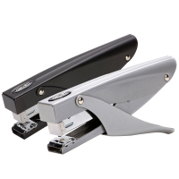 Deli 0346 Standard Stapler Metal Plier Stapler Stapling 20 Sheets Labor saving Medium Stapler Office Binding Supplies Papelaria