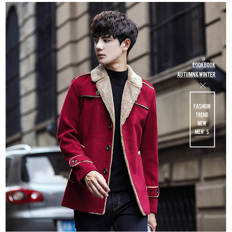 ae54dceb1d US $48.98 38% OFF|Aliexpress.com : Buy Plus Size M 4XL 2018 Korean Style  Mens Coats Overcoats Fashion Winter Dress Coat Mens High Quality from ...