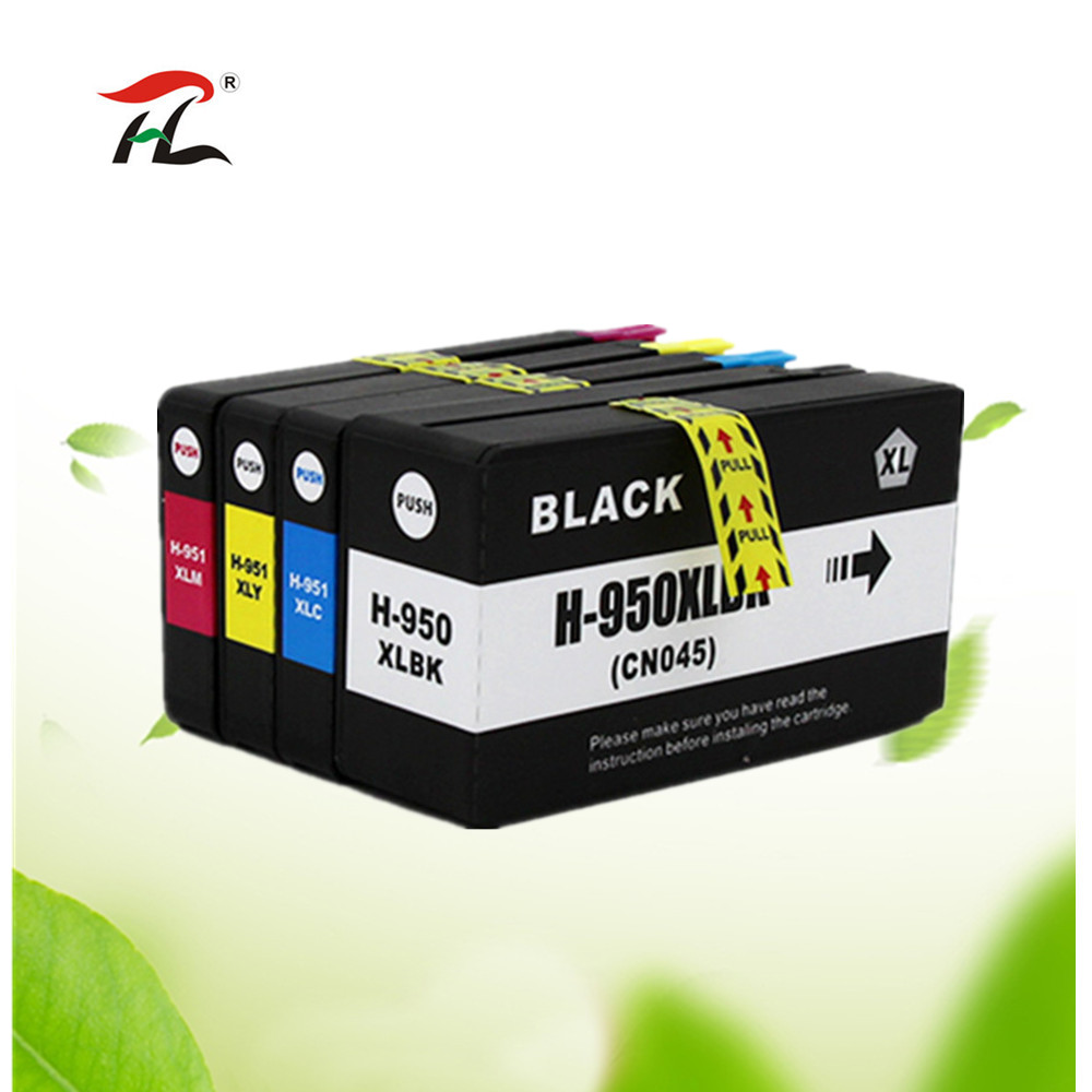 Compatible ink cartridge for <font><b>HP</b></font> 950XL for 951XL For HP950 950 <font><b>951</b></font> Officejet Pro 8600 8610 8615 8620 8630 8625 8660 8680 Printer image
