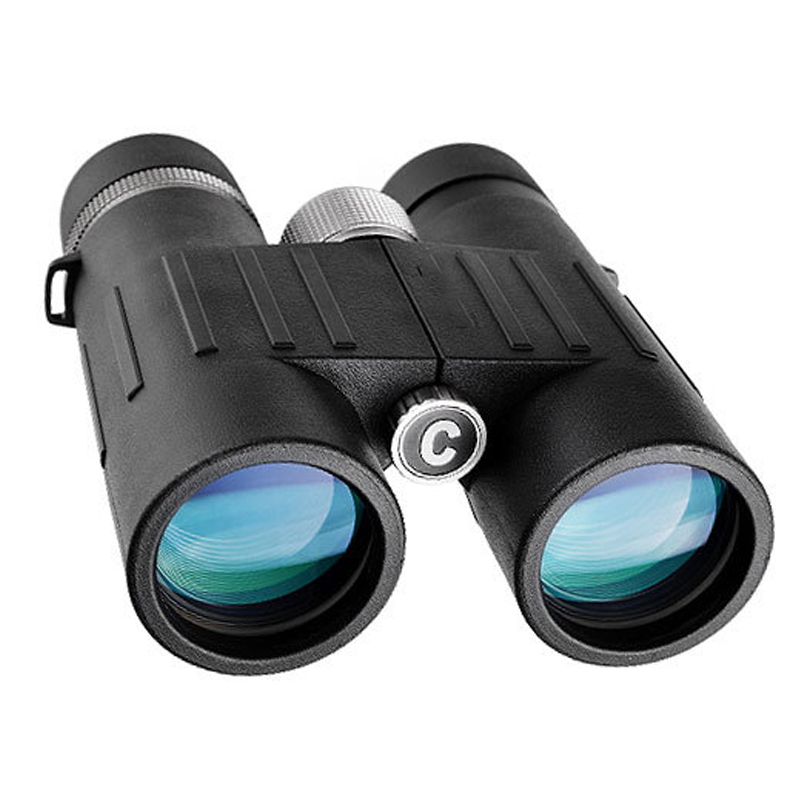 High Quality 8X42 Binocular Telescope Optical Sight Large Eyepiece Waterproof BAK4 Prism Straight Telescope for Hunting high quality yukon 22025c binoculars 20x50 prism binocular yukon 20x50 woodworth telescope 20x lightweigh