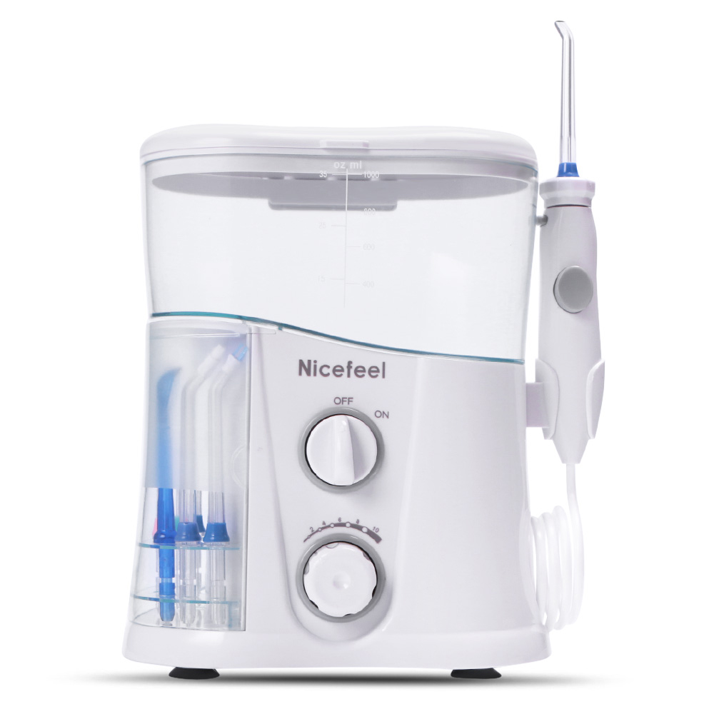 Nicefeel FC188G Dental Flosser Water Jet Oral Care Teeth Irrigator Series A Unique Combination Of Water Clean Deeply Bacteria