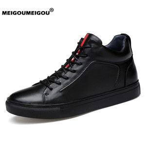 2019 Genuine Leather Men Shoes