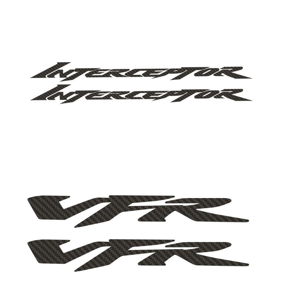 KODASKIN Motorcycle 2D Carbon Sticker Decal For HONDA Interceptor VFR