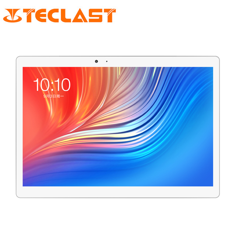 10.1 pouces 2560*1600 Teclast T20 Tablet PC Double 4G Phablet MT6797 Helio X27 Deca Core Android 7.0 4 GB RAM 64 GB ROM 8100 mah 13MP