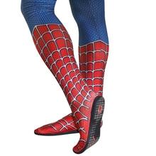 Superhéroe araña Cosplay suelas negras, accesorios de zapatos