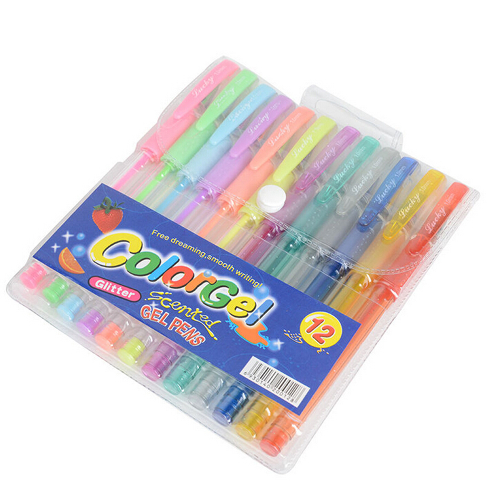 Glitter Gel Pen Set. Pack