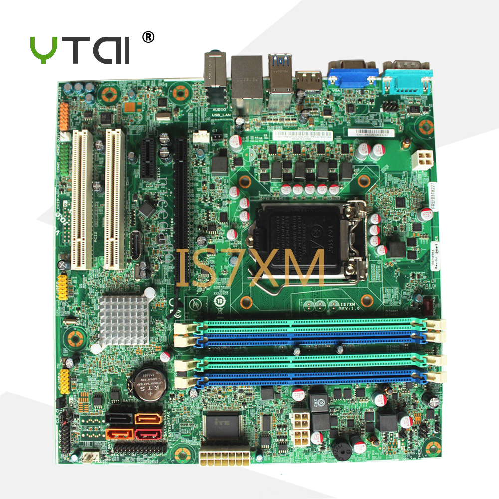 цены YTAI for Lenovo ThinkCentre M92P M92 motherboard IS7XM Q77 3T8227 DDR3 LGA115X desktop motherboard