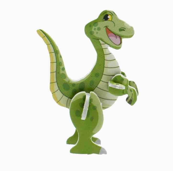 10 Pcs מכירה לוהטת מסיבת דינוזאור מתנה 3D דינוזאור פאזל לטובת מסיבת ג 'ונגל חמוד ילדים שמח מסיבת יום הולדת אספקת מזכרת