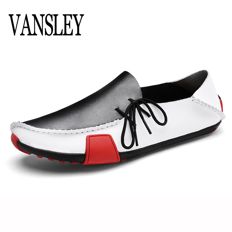 Men   Leather   Shoes Italy Designer Loafers Summer Autumn Oxford Moccasins Mens Shoes Casual Driving Sapato Masculino Big Size 47