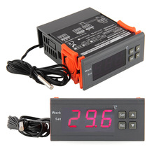 Universal 220V Digital LCD Temp Temperature Controller Switch Thermostat Relay -40~110 Degrees Tools