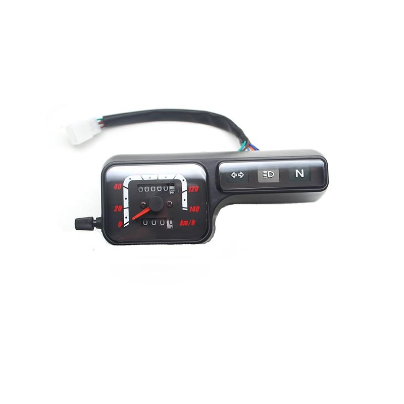 For Honda XR250 CRM250 BAJA250 Motorcycle Digital Speedometer Odometer instrument assembly clock assembly 6 display instrument