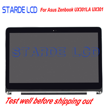2560x1440 Full LCD Screen Display Back Cover Hinges Replacement Touch Digitizer Assembly for ASUS ZENBOOK UX301 UX301L UX301LA цена