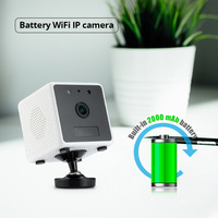 FUERS Home Security Intercom 960P HD Battery WiFi IP Camera Magnet Adsorption PIR Motion Detection Night Vision Alarm Camera