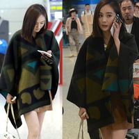 retro national wind shawls and scarves autumn and winter cape cashmere scarf poncho AS 41