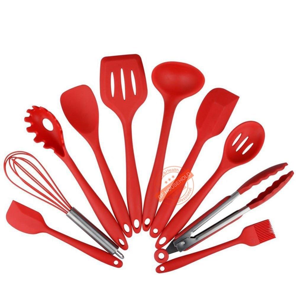 rosso utensili da cucina-acquista a poco prezzo rosso utensili da ... - Arnesi Da Cucina