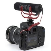 Foleto 마이크 VideoMic 이동 비디오 카메라 마이크 레코더 휴대용 유선 3.5mm 캐논 니콘 소니 DV DSLR 600D 70D D90 D3S