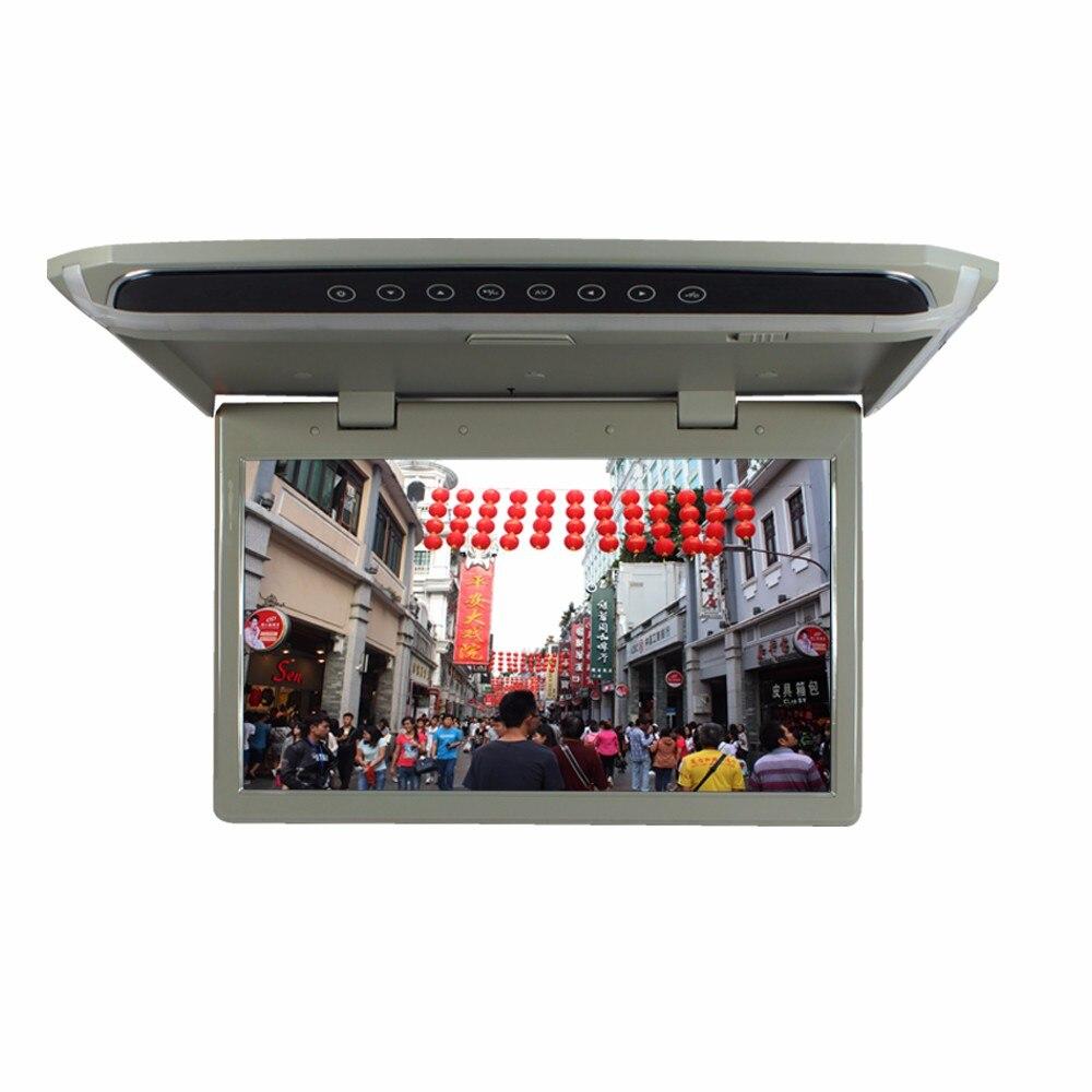 15.6 дюйм(ов) Устанавливаемые на крышу Мониторы флип Пух Мониторы сенсорная кнопка светодиодные панели Мониторы <font><b>1920</b></font>*<font><b>1080</b></font> с USB SD HDMI FM