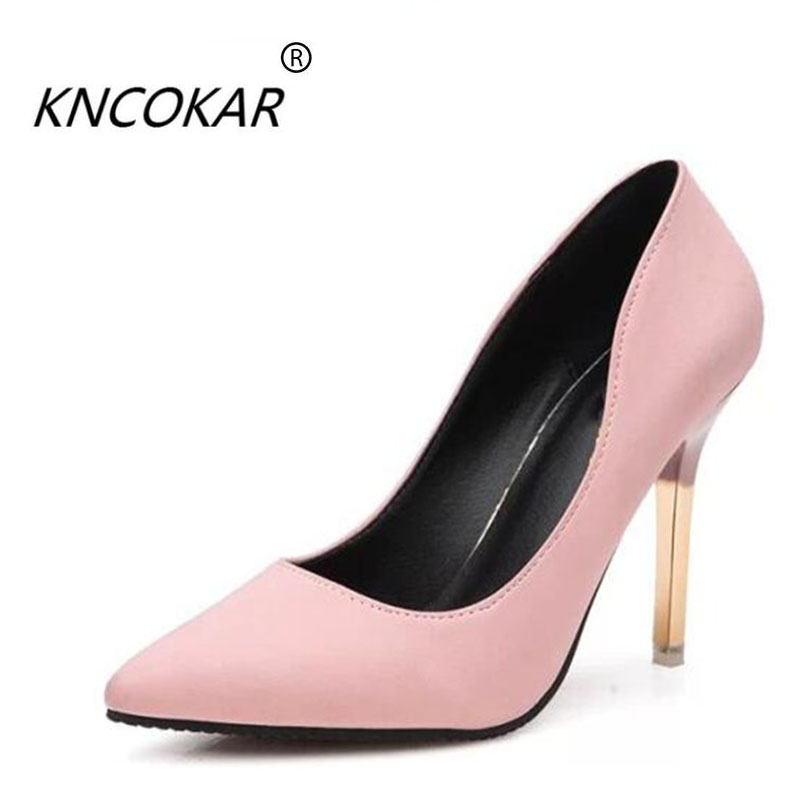 2018 European and American style high heels new thin and super - pointed club sexy women's shoes with a shallow-mouth work shoes 2017the mostfashion trends european and american brands genuine flowers ladies luxury short shoes club sexy women s shoes