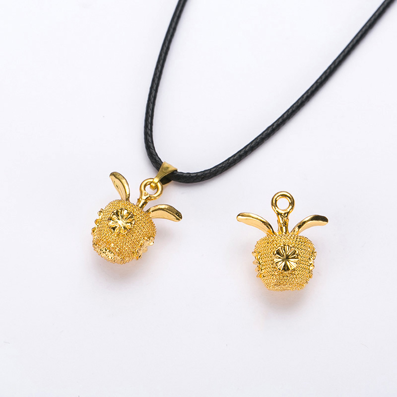 New simple style fashion jewelry plating gold apple necklaces plated new simple style fashion jewelry plating gold apple necklaces plated copper necklace with apple pendant xl642 in chain necklaces from jewelry accessories aloadofball Gallery