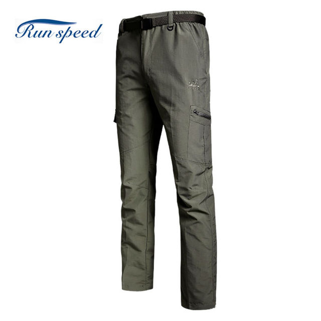 ac5ae51e88 Mens Outdoor Track Pants Softshell Joggers Waterproof Outdoor Quick Dry  Hiking Pants Hunting Climbing Camping Pants MCK008
