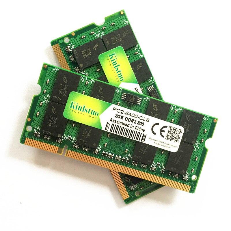 Kinlstuo Brand New Sodimm DDR2 667 МГц / 800 МГц / 533 МГц - Компьютерлік компоненттер - фото 4