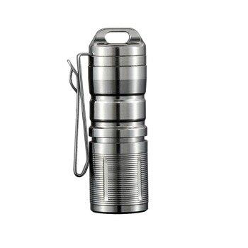 Jetbeam MINI-1 Super Mini Leistungsstarke und Rechargable Cree XP-G2 LED Led Taschenlampe Titan Keychain durch 10180 Batterie