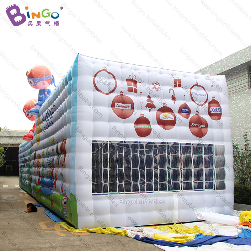 Personalized 18x4.8x4.5 Meters Inflatable Large Family Camping Tent / Inflatable Large Tent Toy Tent