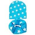 Otoño invierno del bebé del ganchillo sombrero chica boy cap kids beanie estrellas bebé de algodón de punto de los nuevos niños de cuello bufanda del bebé cap niño cap