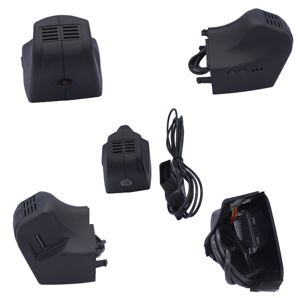 PLUSOBD Car Security Camera For Maserati Quattroporte Motion Detection Car Camera Recorder Video Car DVR With OBD2 Adapter