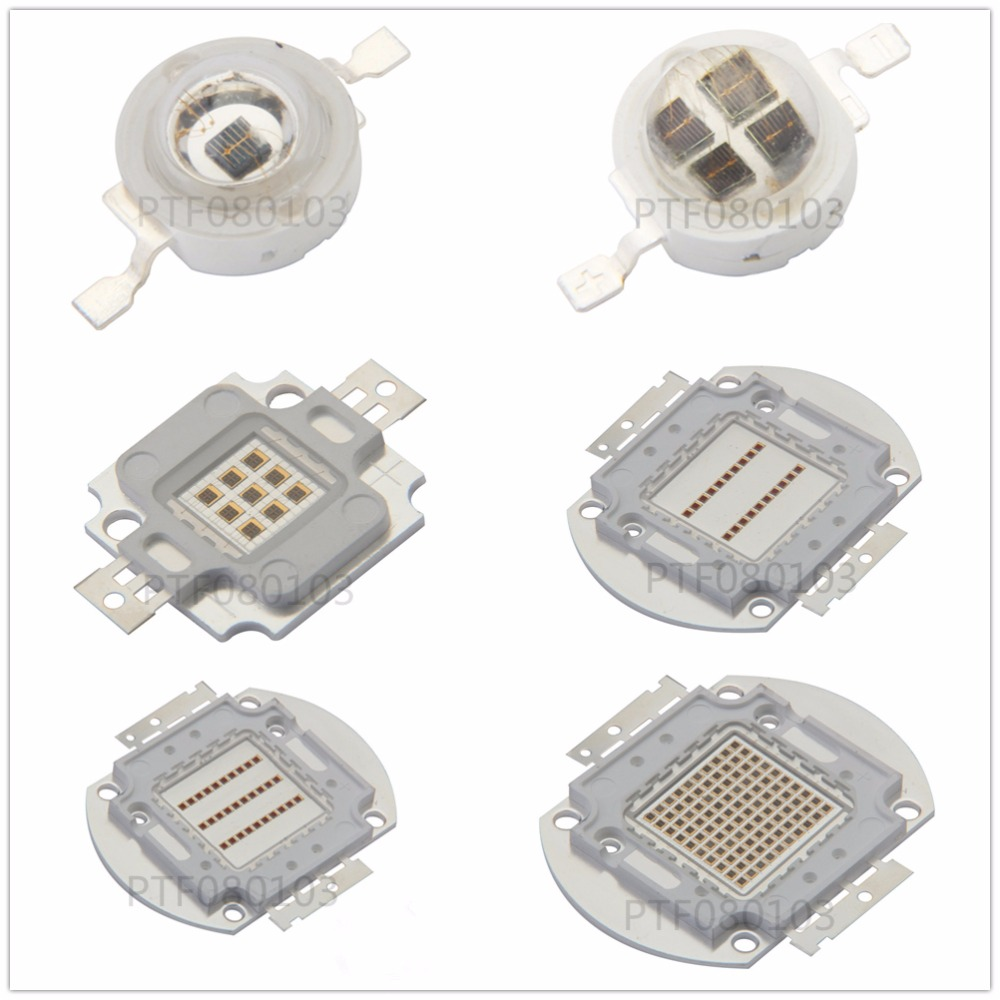 High Power LED Chip 850nm 940nm IR Infrared 3W 5W 10W 20W 50W 100W Emitter Light Bead COB 850nm 940 Nm Night Vision CCTV Camera
