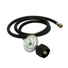 купить CSA Certified 2 meters Low Pressure Propane Regulator and Hose QCC1 Connection Kit for LP/LPG Gas Grill дешево