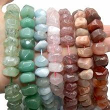 Wholesale Natural Stone Beads Amethysts Amazon Agates Lapis lazuli Tiger Eye Beads For Jewelry Making DIY Bracelet Necklace