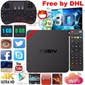 5 unids T95N T95N Mini MX + Caja de la TV Inteligente Android 6.0 TV BOX Quad Core Amlogic S905X 1G + 8G WiFi 4 K Streaming Media Player PK X96