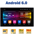 "7 ""1024*600 Quad Core 2 GB RAM + 16 GB ROM 4G LTE SIM WIFI Android 6.0 2Din Para Nissan Universal de Coches Reproductor de Radio DAB + Enlace Espejo BT"