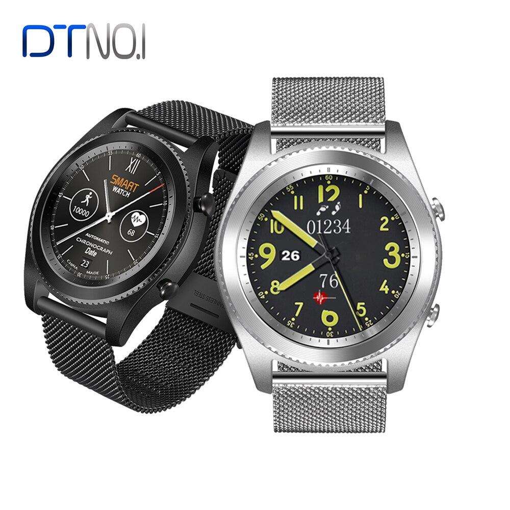 3d0f85c824d Nova Versão N ° 1 S9 Monitor de Freqüência Cardíaca relógio Inteligente  Bluetooth 4.0 Pulseira de relógio Inteligente Wearable dispositivos para  iOS Android ...