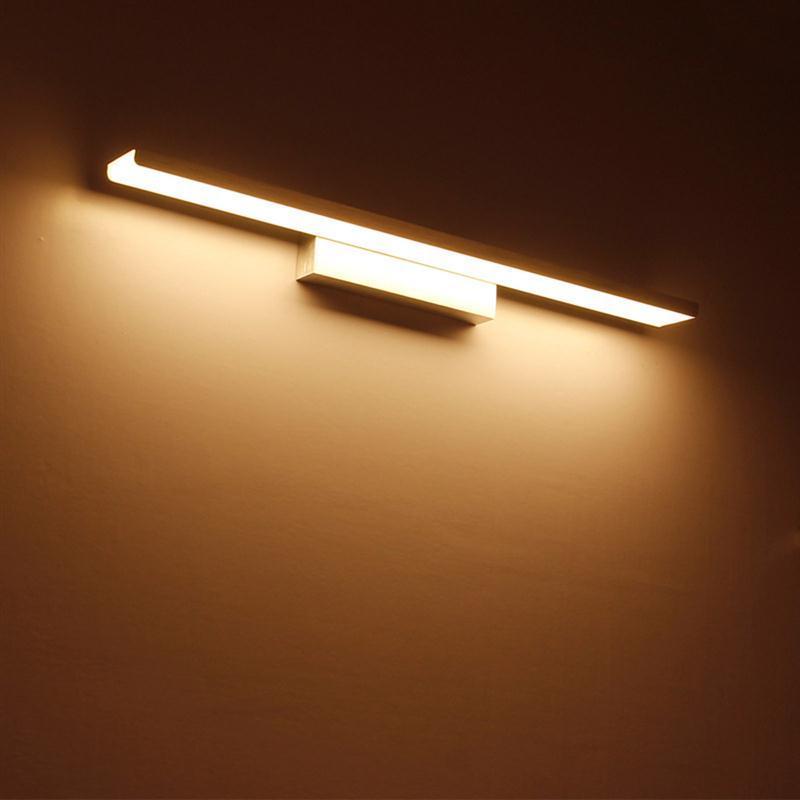 16 Inch 16W Minimalist Bathroom Make Up Mirror Lamp Sconce LED Wall ...