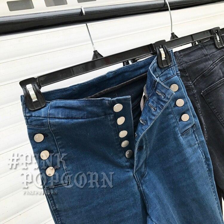 ... de que antes de cohechar un Jeans de cintura alta elástica elástico  Skinny Denim lápiz pantalones Plus tamaño pantalones vaqueros Mujer Camisa  femenina ... 0696863a6f0