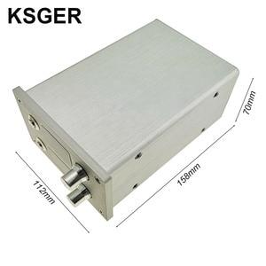 Image 3 - KSGER 2 In 1 T12 STM32 OLED 납땜 스테이션 핫 에어 건 SMD 건조기 디지털 재 작업 디 솔더링 수리 도구 알루미늄 합금 핸들