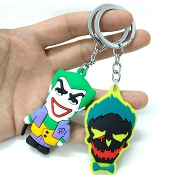 Брелки резиновые Отряд Самоубийц Харли Квинн и Джокер 1