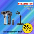 JP-A2 + stand wireless usb barcode scanner & stand wireless barcode reader & bracket barcode scanner wireless & cradle JP-A2