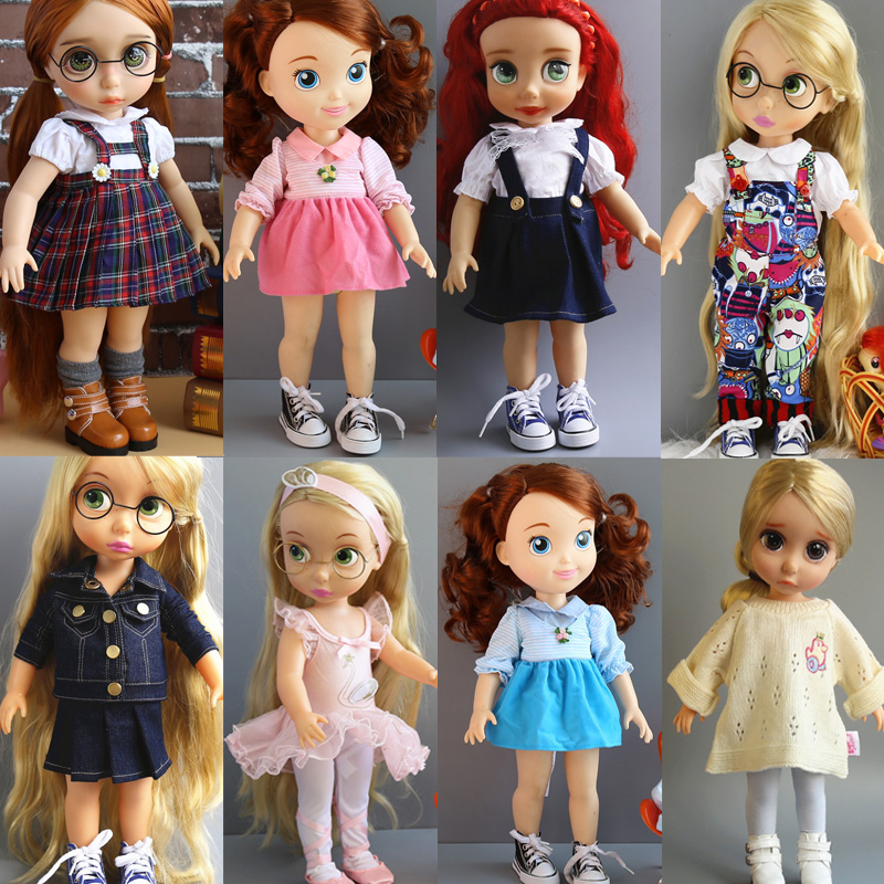 skirt Variety dresses Clothes for dolls ofia Anna Elsa for 40cm Salon Doll Accessories