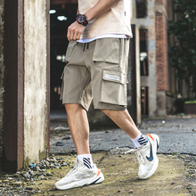 men shorts sweat hip hop streetwear summer military cotton mens bermuda M-XXXL 2019  colorful