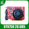 Placas gráficas nvidia geforce gtx750 2 gb gddr5 128bit jogo de cartas 1120/5000 mhz