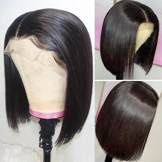 Brazilian Remy Lace Front Human Hair BOB Wigs