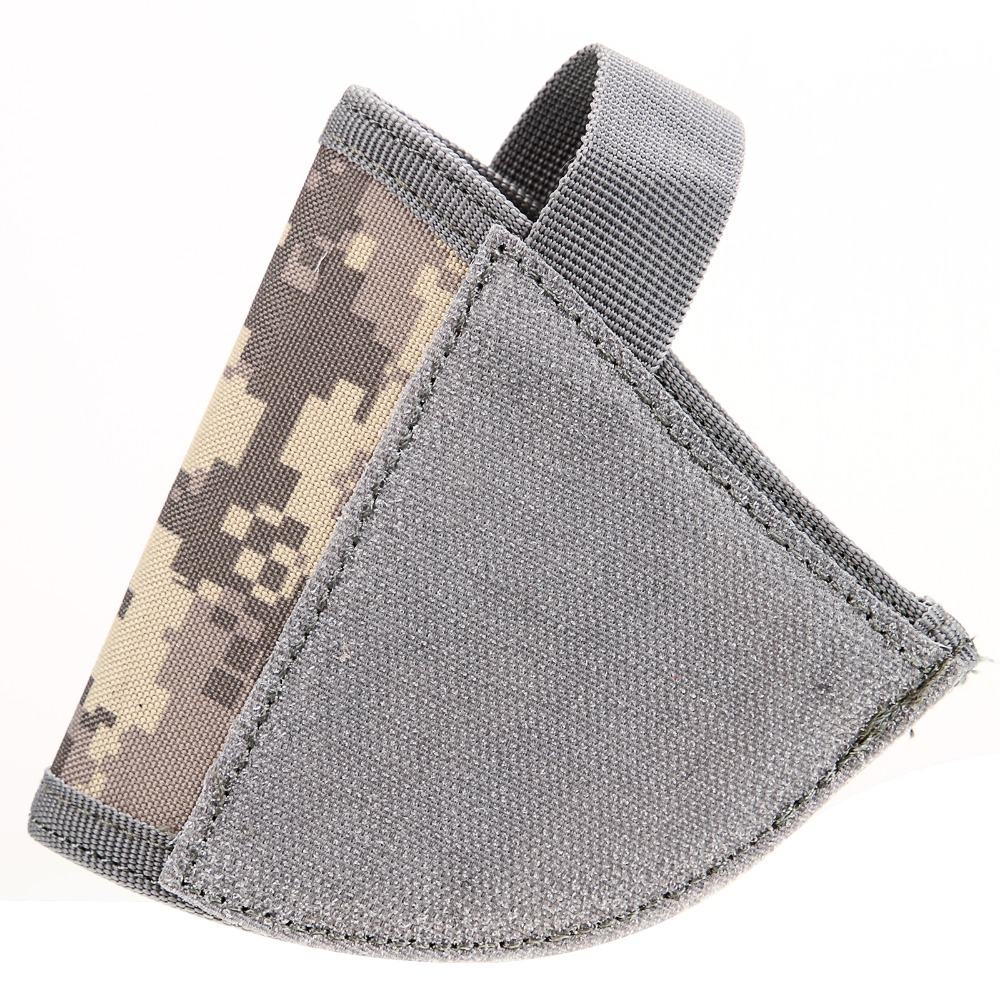 For Adjustable Tactical Velcro Hook Pistol ACU Holster Right Hand Hook Loop Gun Holster shipping