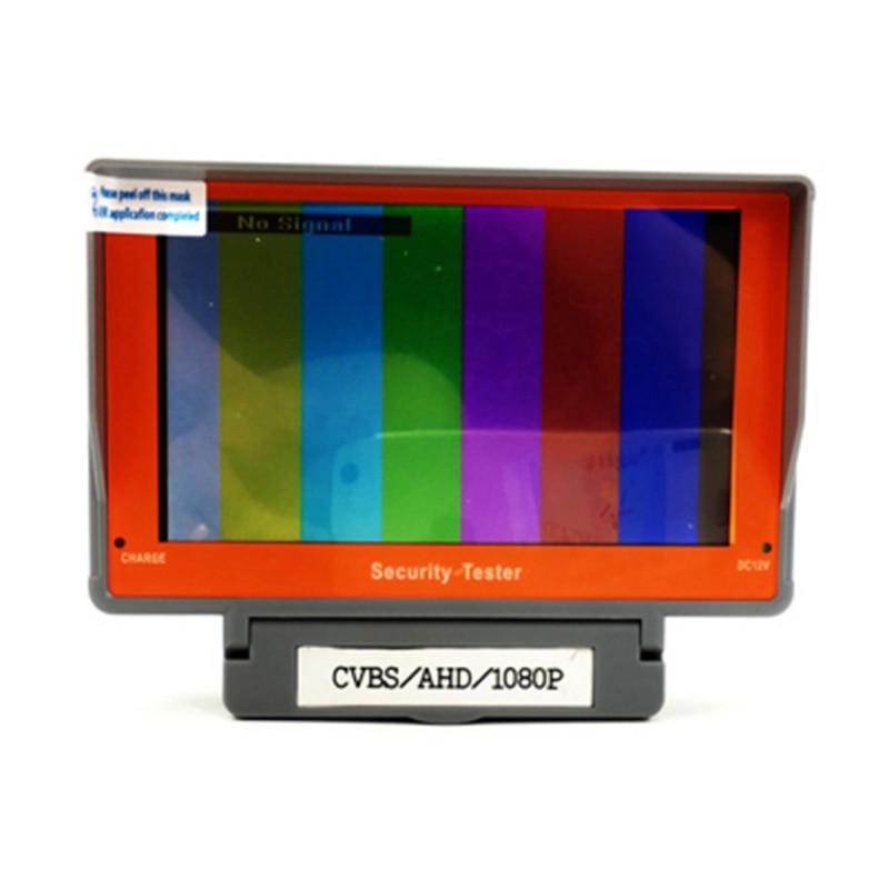 5 LCD Wrist 1080P AHD CCTV Camera Test Display Monitor Tester DC 12V Output ADSL Detection LED Lamp AHD 720P 960P 1080P Tester