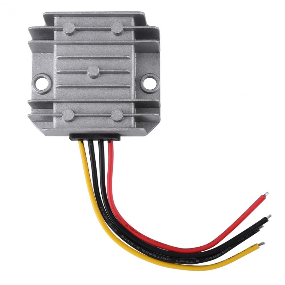 VEBESTLIFE DC-DC 24V To 12V 5A 60W Voltage Step Down Module Buck Power Supply Converter for Car Vehicle
